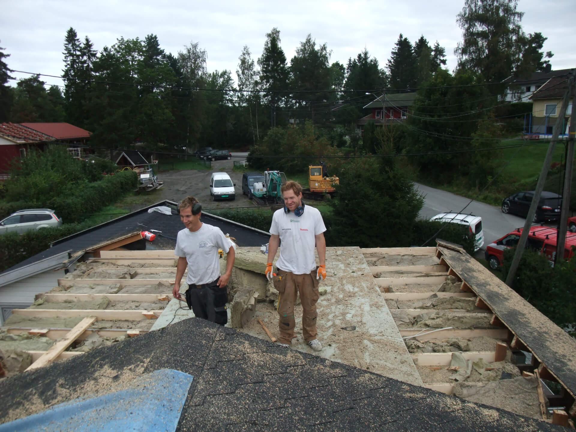 tilbygg og rehabilitering Strømbråtenveien
